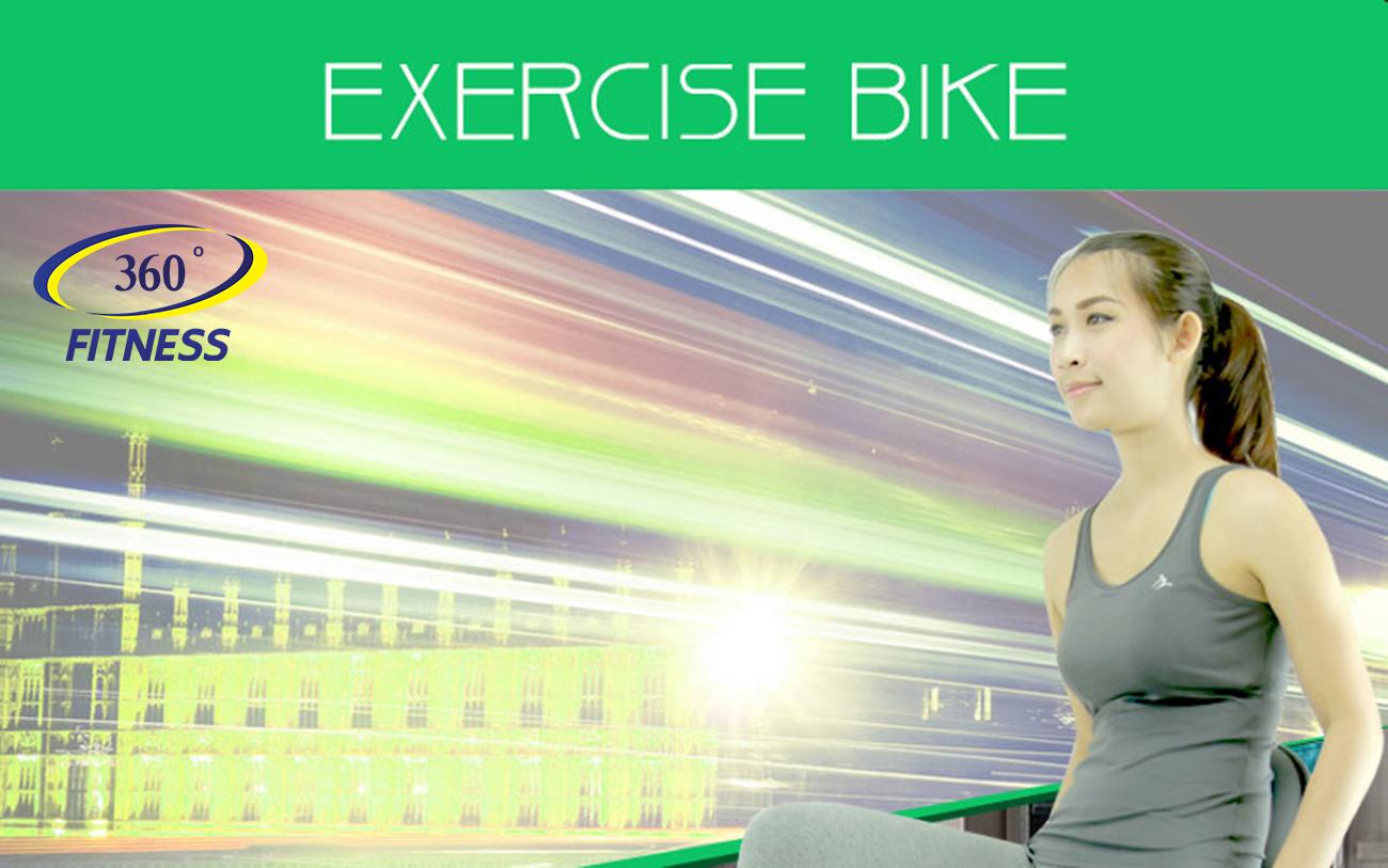 Exercise Bike จักรยานออกกำลังกาย แบบพับได้