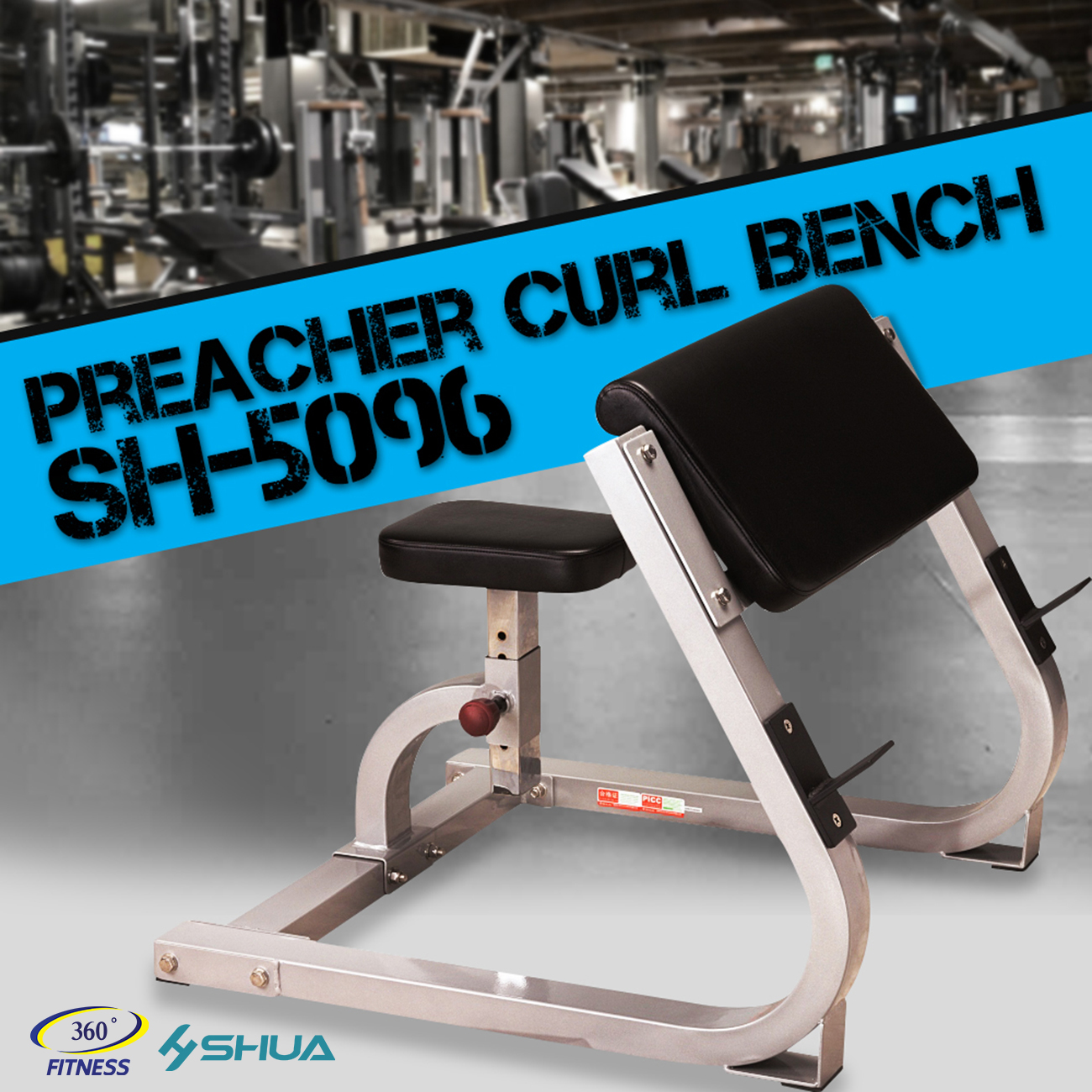 Preacher Curl Bench (SH-5096)