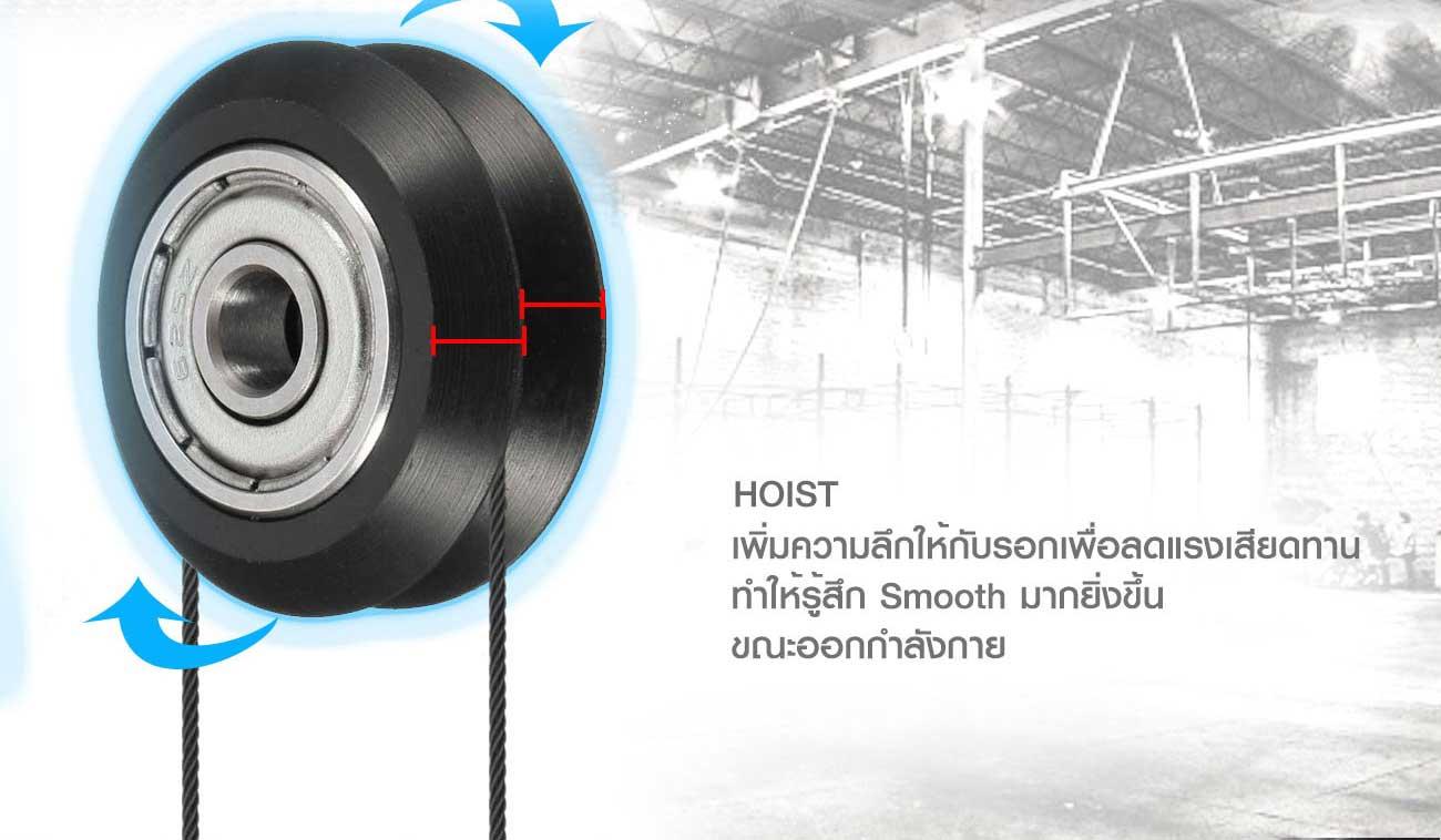เครื่องบริหารกล้ามเนื้อหน้าอก Chest Press (SH-6801)