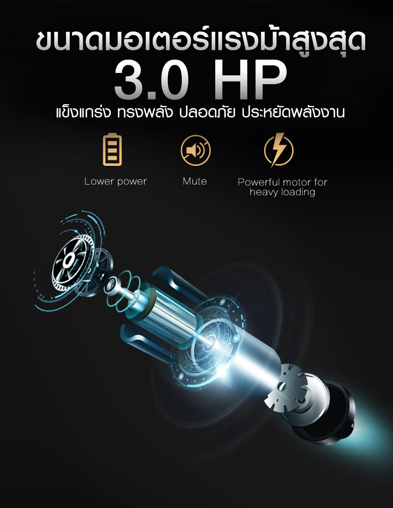 ลู่วิ่งไฟฟ้า 360องศา ฟิตเนส E9 - 3.0HP motor