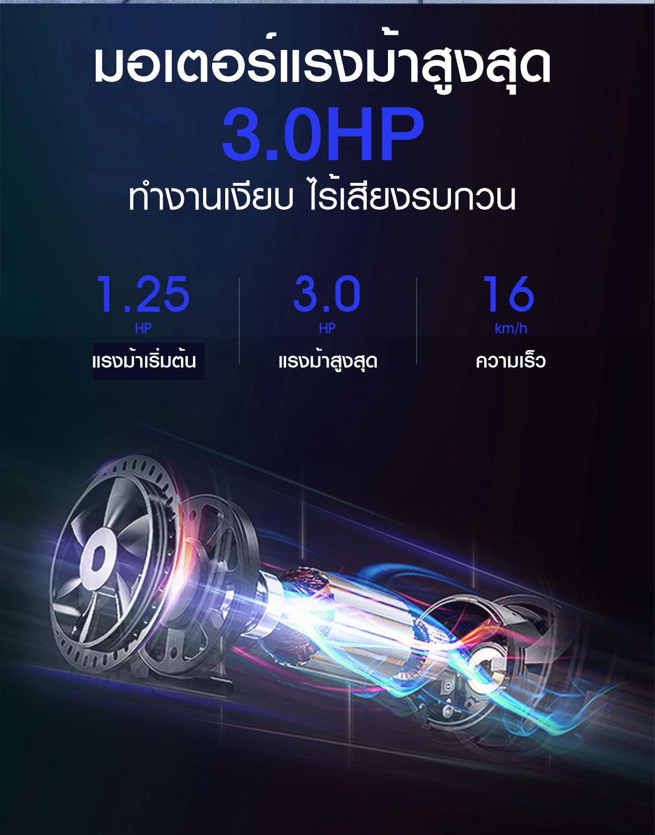 ลู่วิ่งไฟฟ้า 360 องศาฟิตเนส รุ่น 9119D
